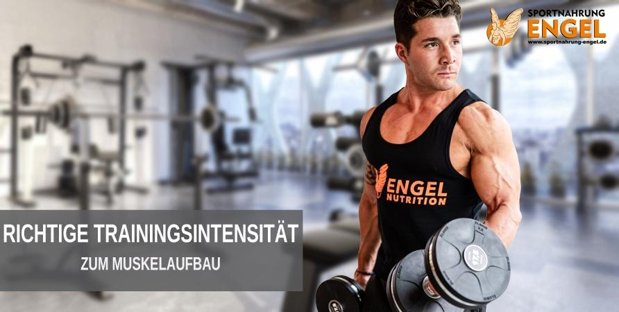 Diese Trainingsintensität benötigst Du zum Muskelaufbau