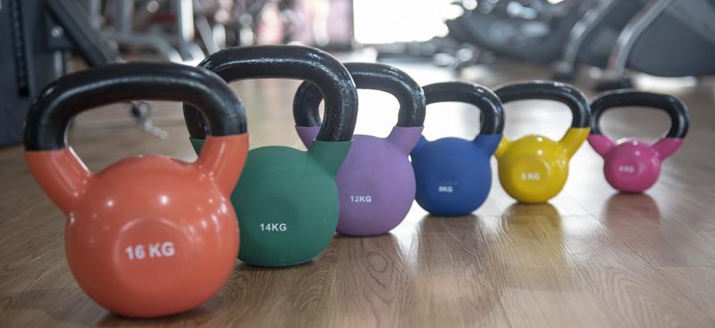Welches Gewicht beim Kettlebell Training