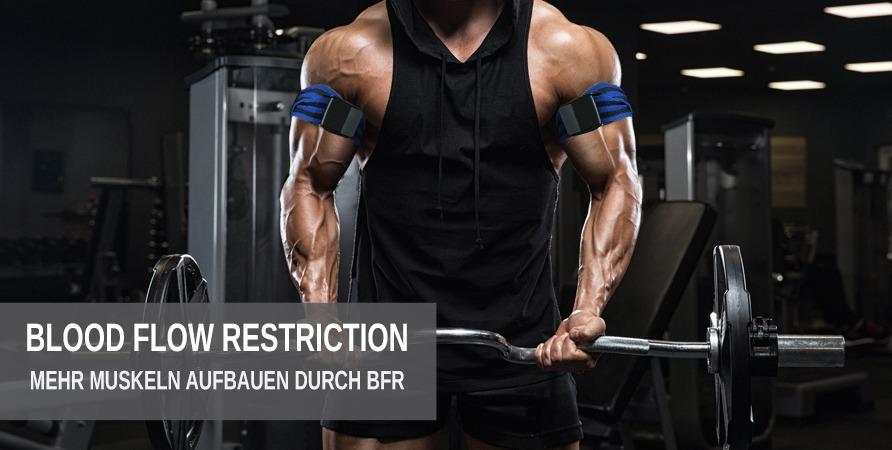 Mehr Muskelaufbau durch BFR Training