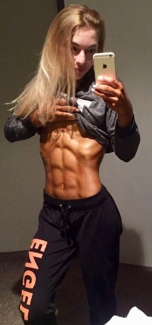 Die perfekten Fitness Bauchmuskeln für Frauen