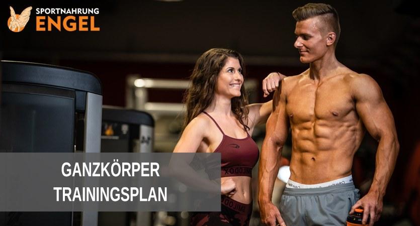 Trainingsplan Ganzkörpertraining zum Muskelaufbau