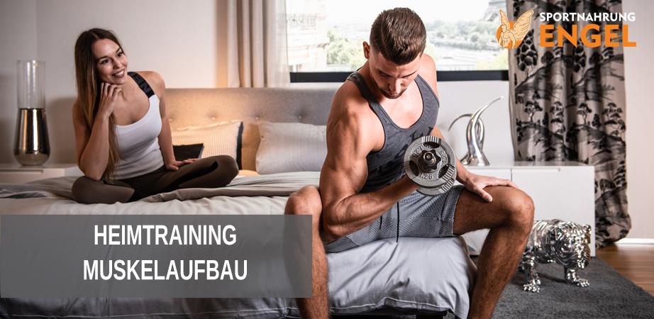 Heimtraining Muskelaufbau Training