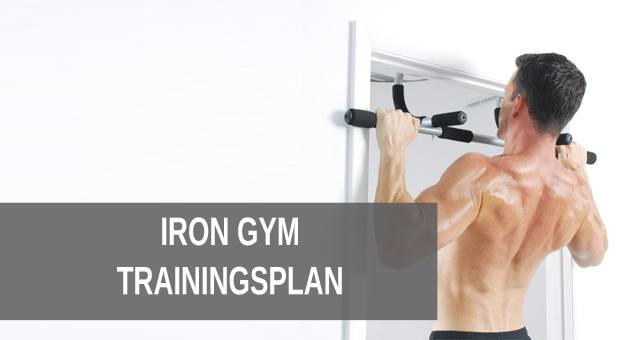 Iron Gym Trainingsplan
