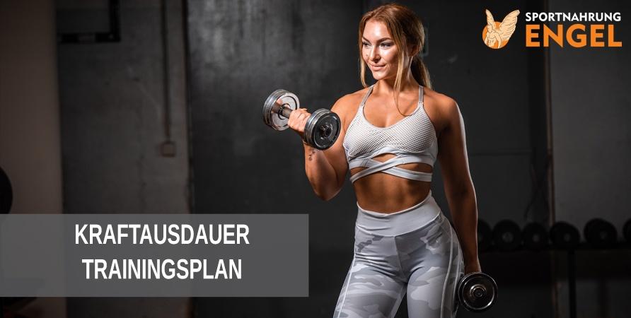 Mit unserem Trainingsplan die Kraftausdauer steigern für mehr Muskelwachstum