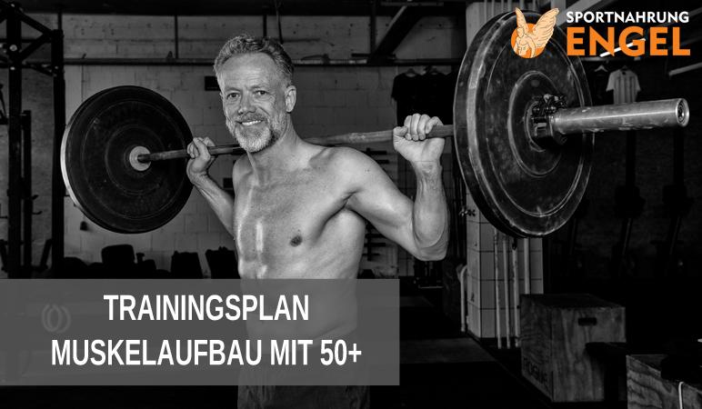 Trainingsplan Senioren über 50 zum Muskelaufbau