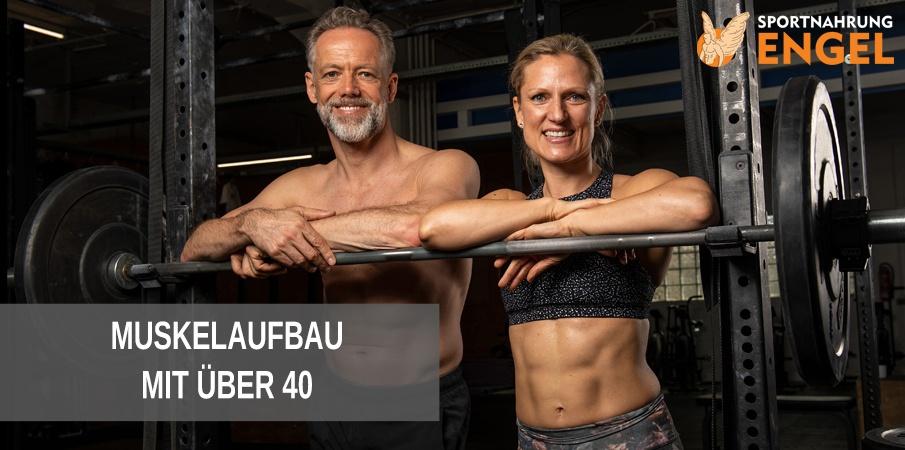 Muskelaufbau mit über 40