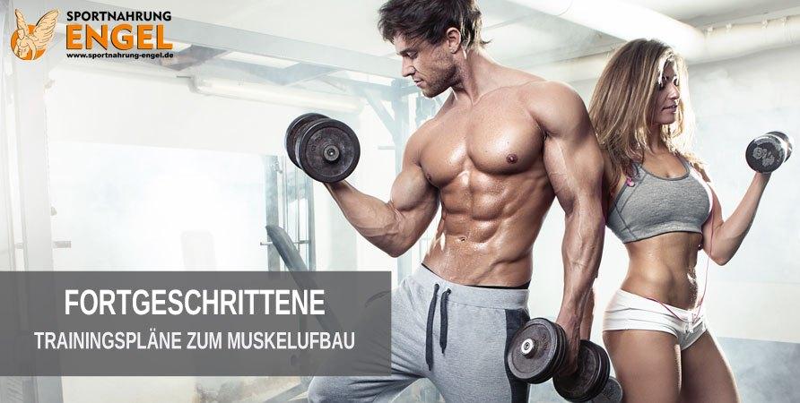 Trainingspläne für Fortgeschrittene Sportler zum Muskelaufbau