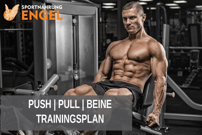 3er Split - Push Pull Beine Trainingsplan