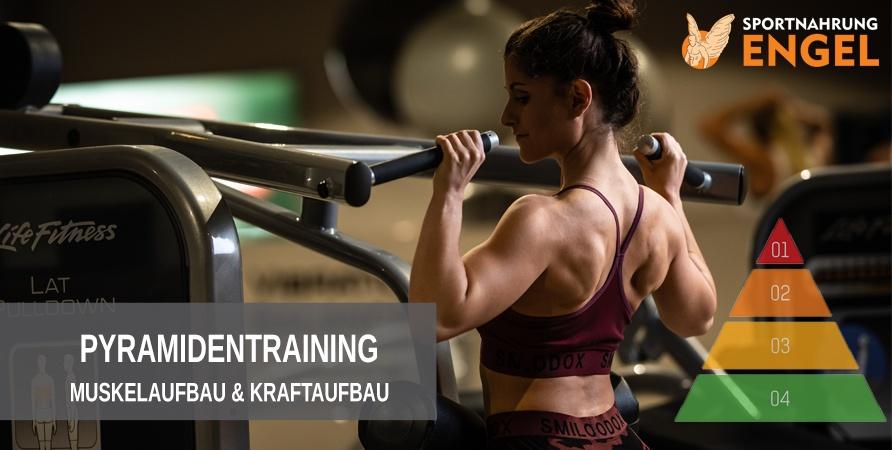 Trainingsplan Pyramidentraining zum Muskelaufbau