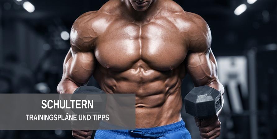 Trainingspläne für eine muskulöse Schultermuskulatur