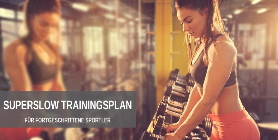 3er Split Superslow Trainingsplan