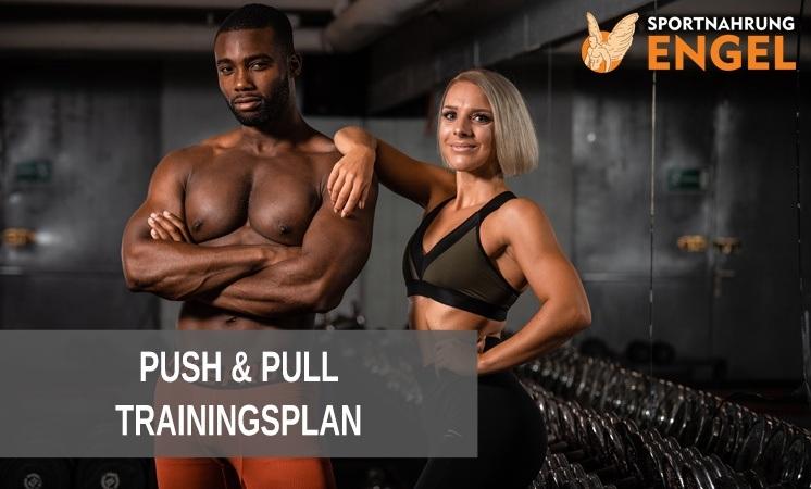 Das effektivste Push Pull Training im 2er-Split für Einsteiger & Fortgeschrittene