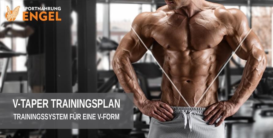T-Taper Trainingssystem für eine V-Form - Breiter Rücken und schmale Taille