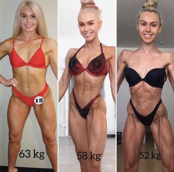 Mit dem Bikini Athletin Trainingsplan zur Bühnenform