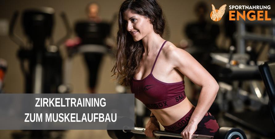 Zirkeltraining zum Muskelaufbau