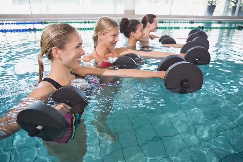 Aqua Fitness schonendes Training bei starker Fettansammlung