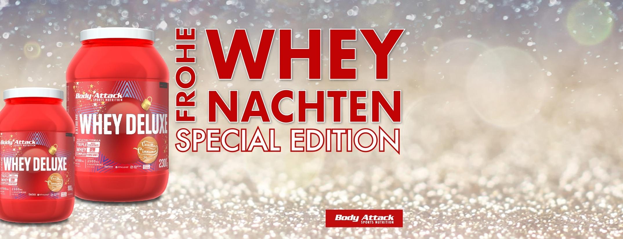 Jetzt Body Attack Extreme Whey Deluxe Weihnachts Edition kaufen