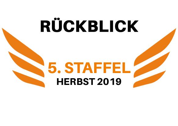 Rückblick Fly to Stage Staffel 5 xs