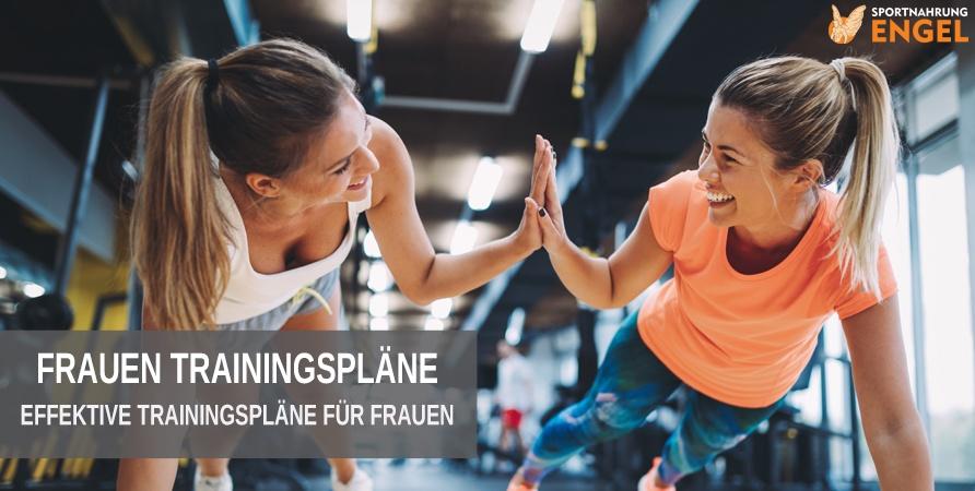 Frauen Trainingspläne für Muskelaufbau & Fettabbau