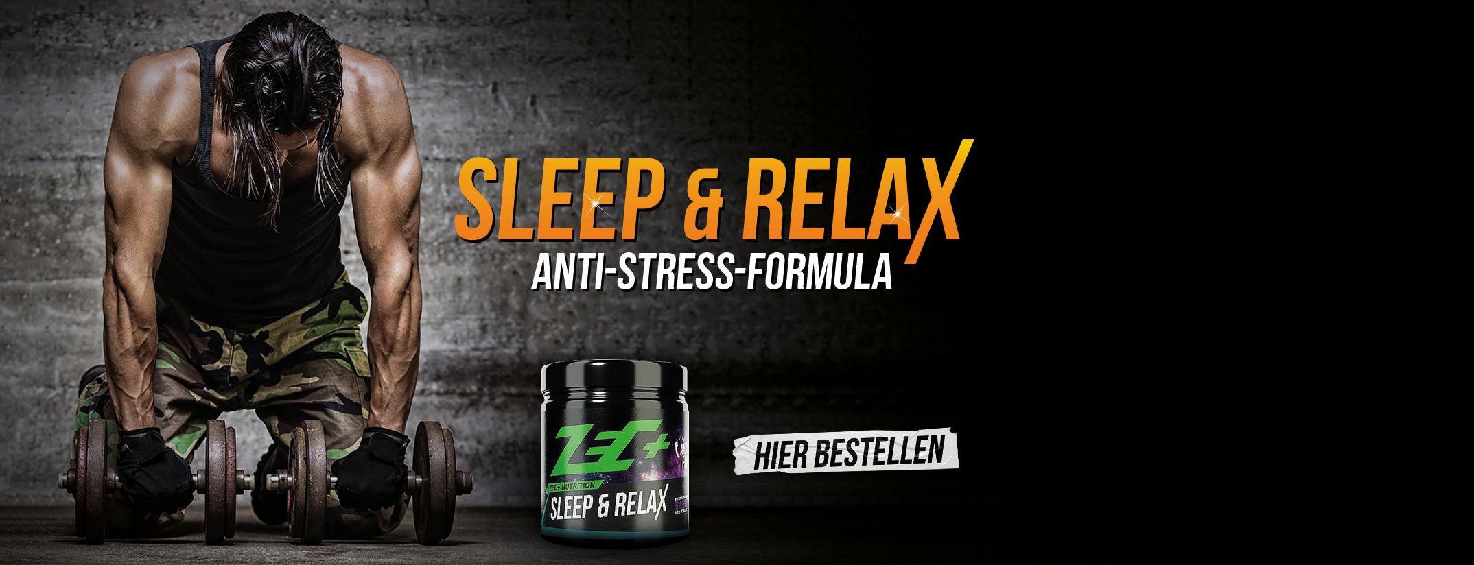 Sleep & Relax Anti Stress Formula von ZEC+ im Online Shop günstig kaufen