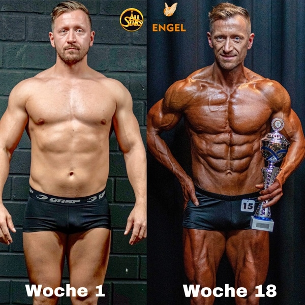 Kevin Elsner Body Transformation mit Fly to Stage