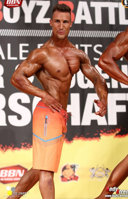 Andre Roersch Muscular Physique Athlet