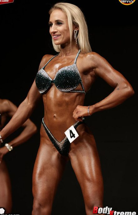 Angelika Sauer Bikini Fitness Athletin