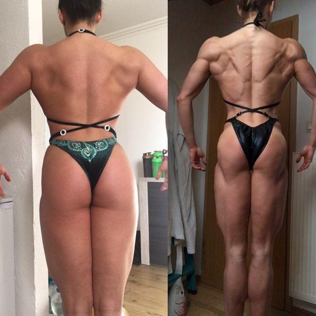 Beine Transformation Bodybuilding