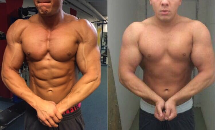 Brustvergleich Vorher Nachher Bodybuilding