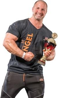 Fitnessmodel Christian Engel aus Trier