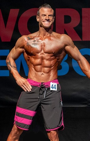 Christian Strater Mens Physique Athlet