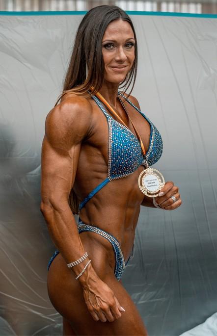 Diana Petry Deutsche Meisterin Frauen Figur