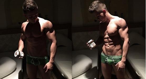Edgar beim Cheat-Day in der Muskelaufbauphase