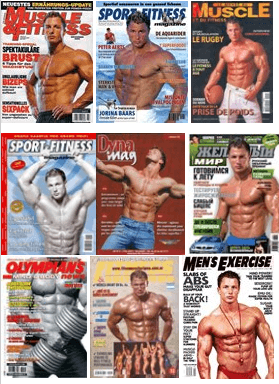 Fitness Cover Model Christian Engel