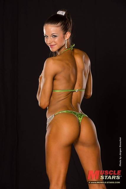 Hannah beim Fitness Fotoshooting