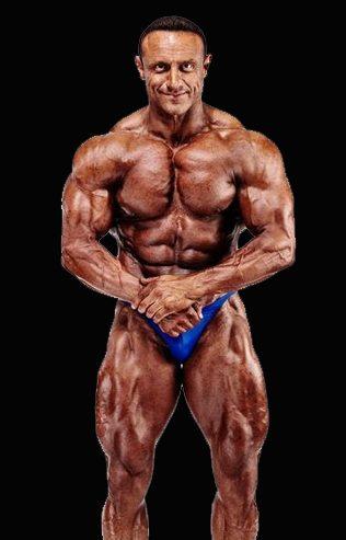 Ilario Rongioletti Deutscher Meister im Bodybuildingt