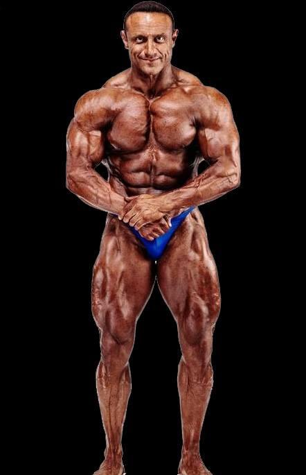 Ilario Rongioletti Deutscher Meister im Bodybuilding