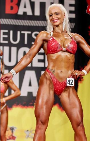 Janine Ptak Bikini Fitness Athletin