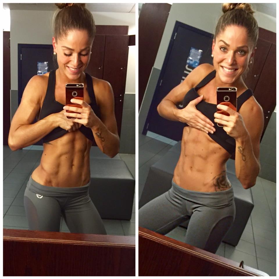 Bauchmuskeltraining von Sportnahrung-Engel Bikini-Athletin Jessica Da Costa