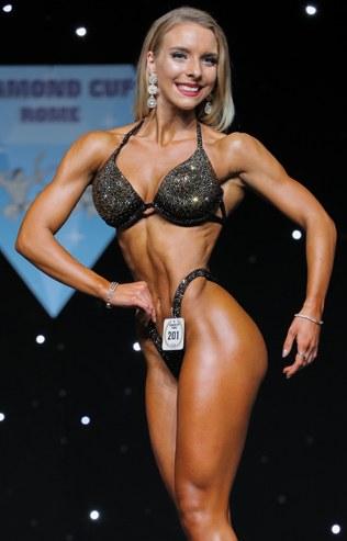 Joana Werle Bikini Fitness Athletin
