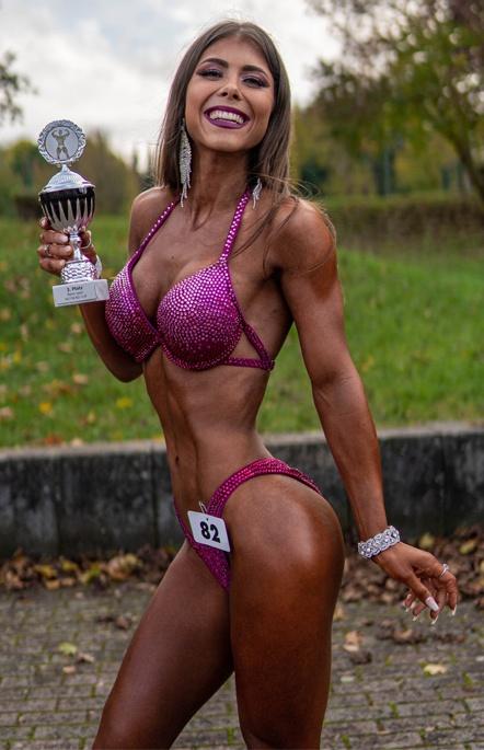 Leonie Faesser Bikini Fitness Athletin