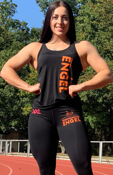 Figurathletin Lisa Hillebrand Team Sportnahrung Engel