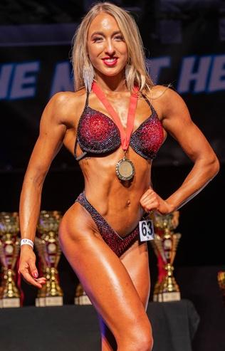 Luisa Schipp Bikini Athletin