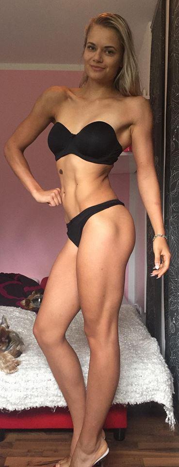 Nicole Pruszak Bikini Fitness Juniorinnen Athletin