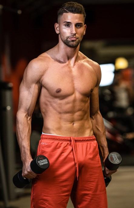 Nils Kieslich Fitness Model aus Trier