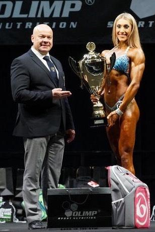 Siegerehrung DBFV Deutsche Meisterschaft mit Jennifer Ullmer