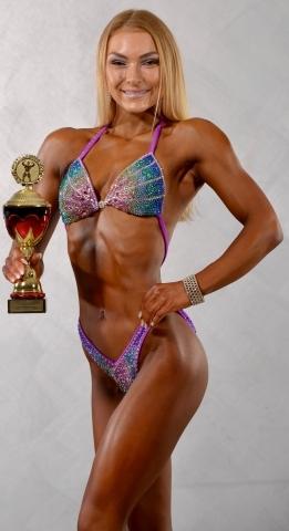 Viola Lorenz als Deutsche Junioren Meisterin